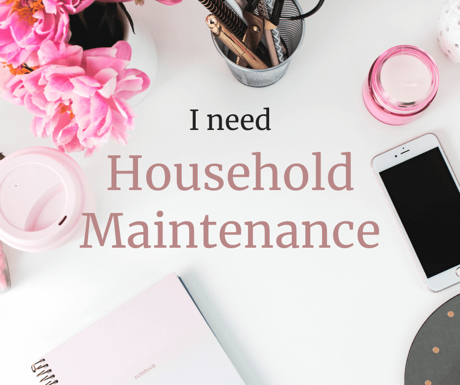 Household Maintenance services
