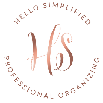 Hello Simplified Professional Organizing Logo