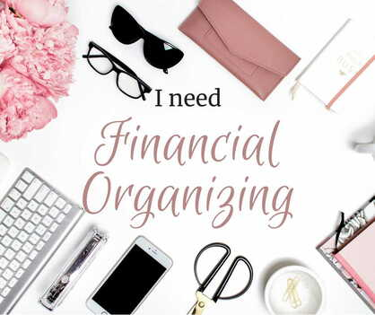 View our financial organizing for financial coaching, accountability, budgets, etc.