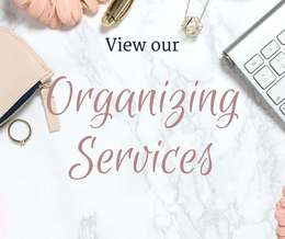 Hands on in home organizing services in Portsmouth, NH and surrounding areas